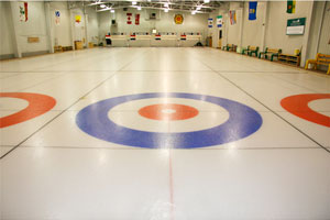 Almonte Curling Club Ice