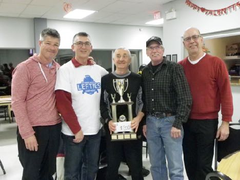 2017 Left-Handed Curling Championship winners