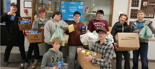 ACC Bantams Food Drive